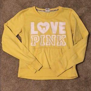 Victoria secret PINK pull over sweatshirt.